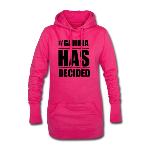 GAMBIA_HAS_DECIDED - Hoodie Dress