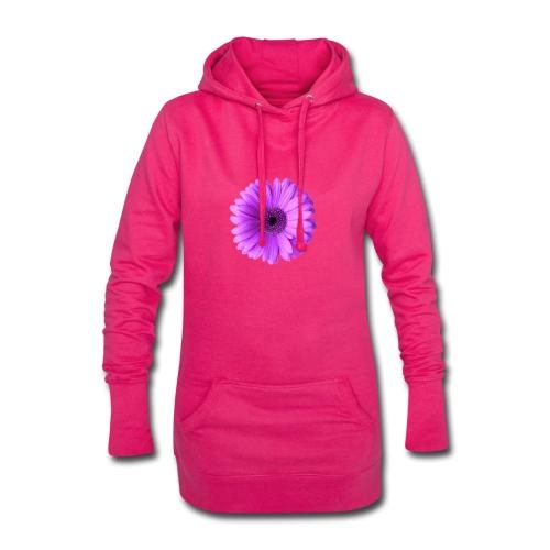 Flor - Sudadera vestido con capucha