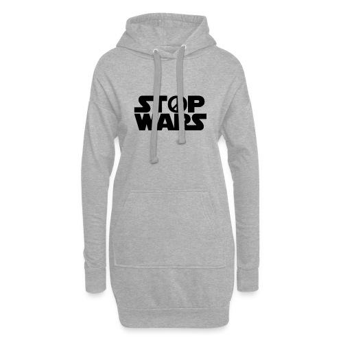 Stop Wars - Sweat-shirt à capuche long Femme