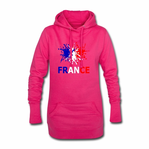 France - red white blue - Hoodie Dress