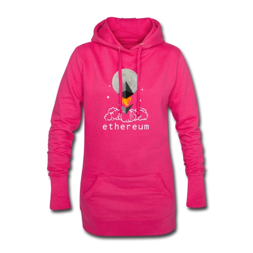 Ethereum Cryptocurrency To The Moon - Hoodie-Kleid