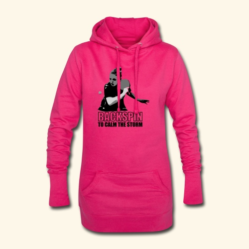 Backspin to calm the storm, play table tennis - Hoodie-Kleid
