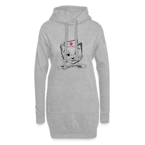 KrankenSisters Katze - Trust Me - Hoodie - Hoodie-Kleid