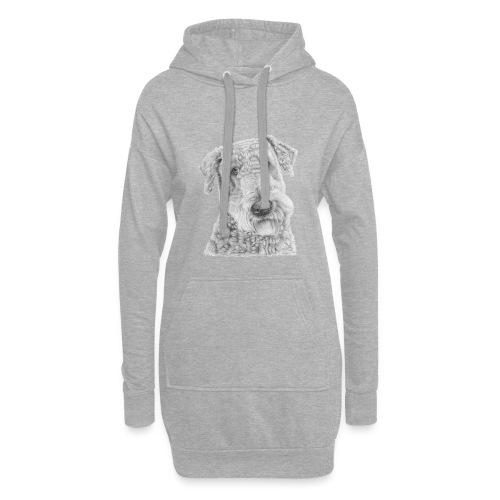 airedale terrier - Hoodie-kjole