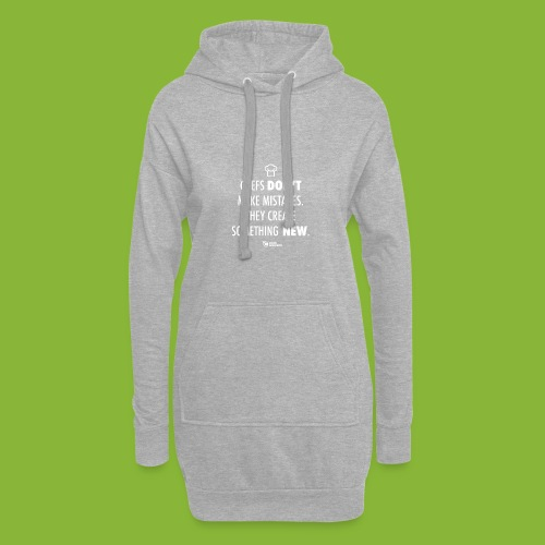 Chefs don't make mistakes - Hoodie Dress