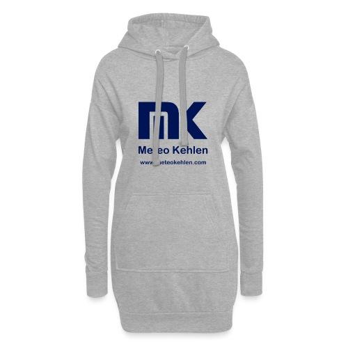 mk logo www. - Hoodie-Kleid