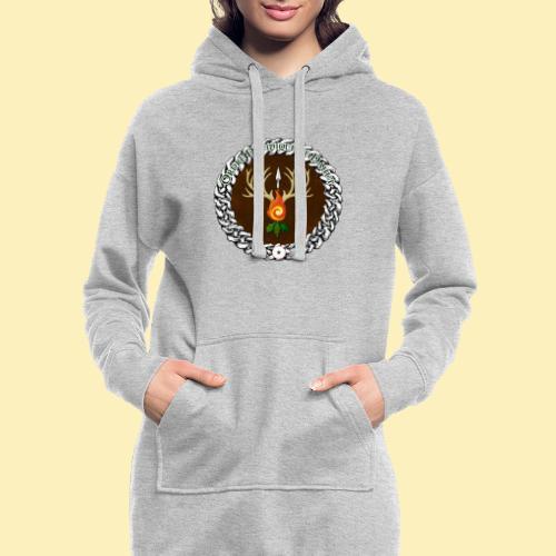 Médaillon de Neved - Sweat-shirt à capuche long Femme