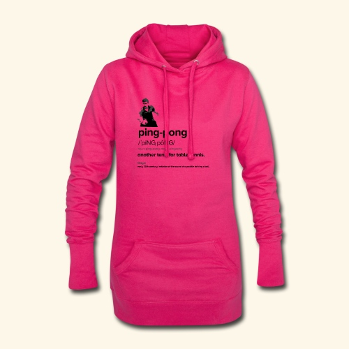 Ping Pong Meaning, Be A champion - Hoodie-Kleid