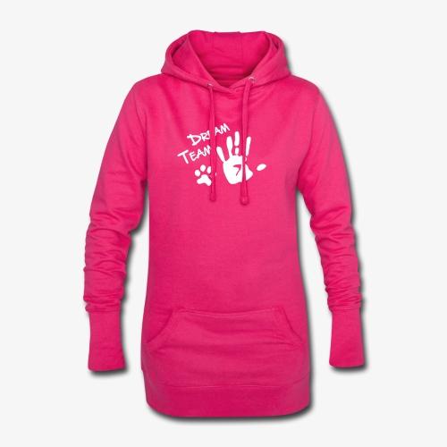 Dream Team Hand Hundpfote - Hoodie-Kleid