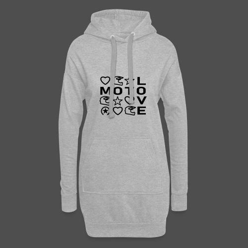 MOTOLOVE 9ML01 - Hoodie Dress