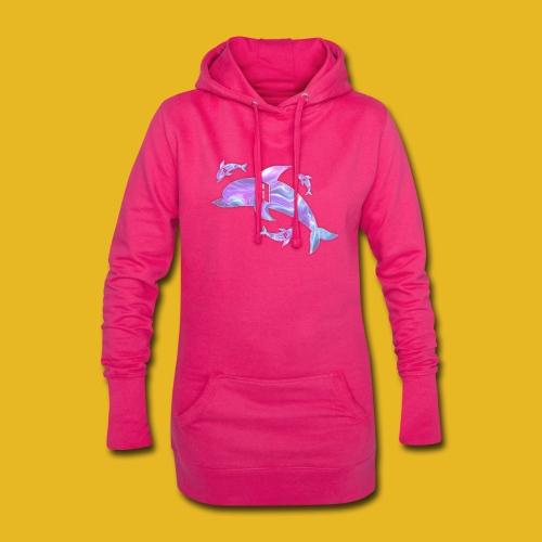 Delph Vaporwave Logo - Hoodie-Kleid