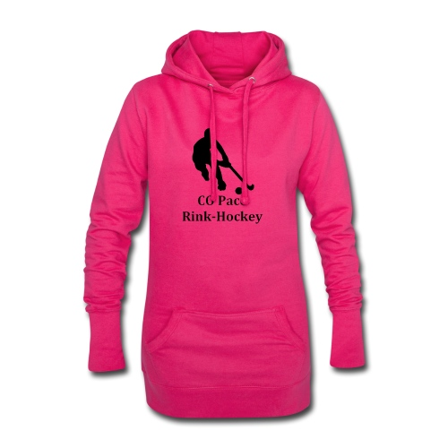 Logo COP RH noir - Sweat-shirt à capuche long Femme