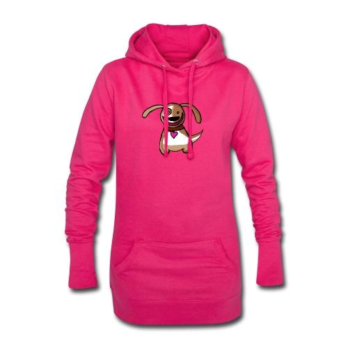 Titou le chien - Sweat-shirt à capuche long Femme