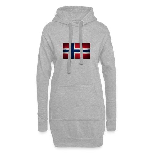 Norsk Flagg - Hettekjole