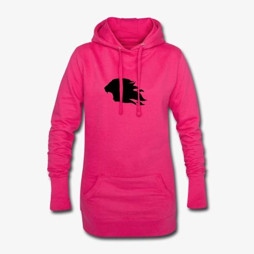 PR3DATOR (Half Logo) [Black] - Hoodie Dress