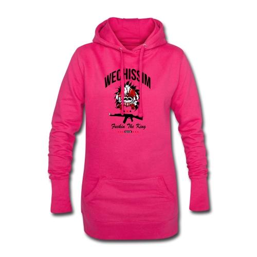 wechissim - Sweat-shirt à capuche long Femme