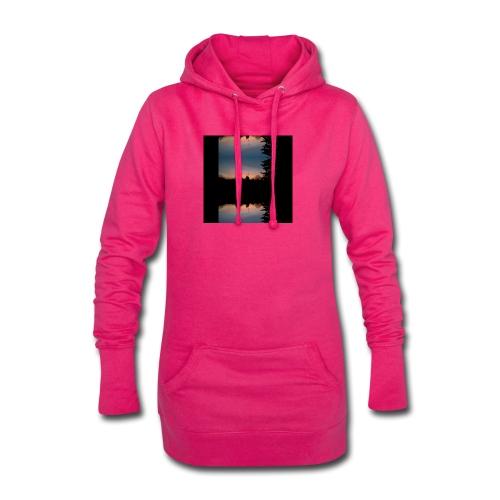 Sonnenhorizont Spiegelung Heller - Hoodie-Kleid