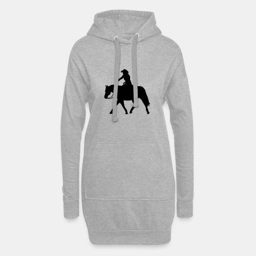 Ranch Riding extendet Trot - Hoodie-Kleid