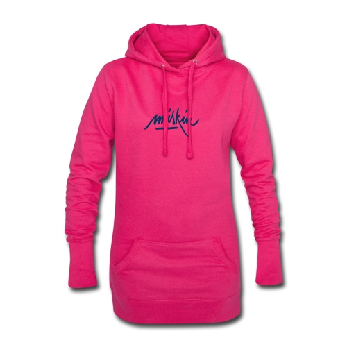 T-Shirt Miskin - Sweat-shirt à capuche long Femme