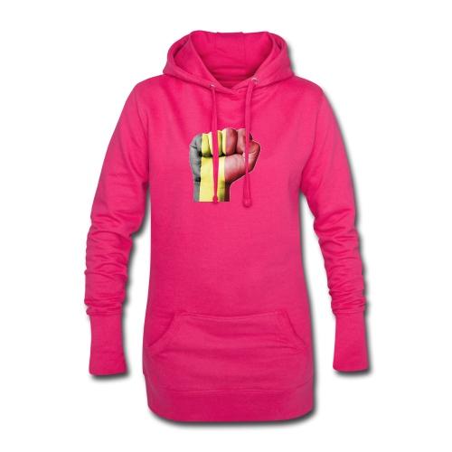 La résistance Belge - Sweat-shirt à capuche long Femme