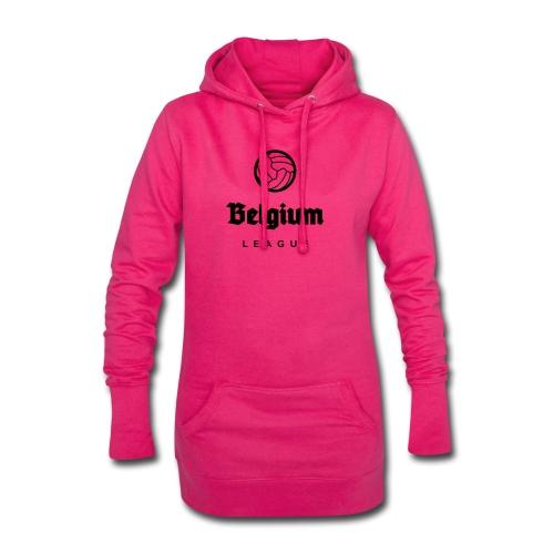 Belgium football league belgië - belgique - Sweat-shirt à capuche long Femme