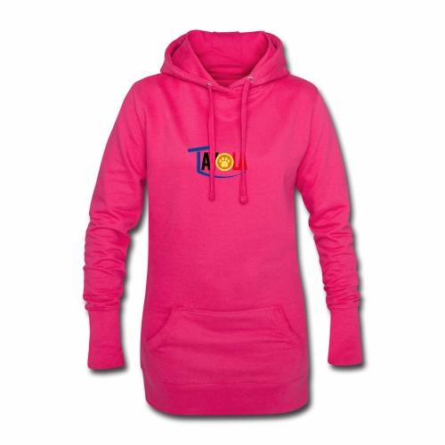TAYOLA Nouveau logo!!! - Sweat-shirt à capuche long Femme