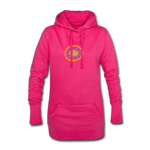 Mandala Pizza - Hoodie Dress