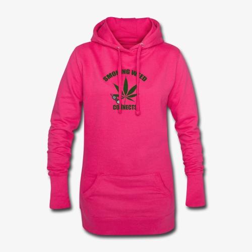 Smoking Weed Connects - Hoodie-Kleid