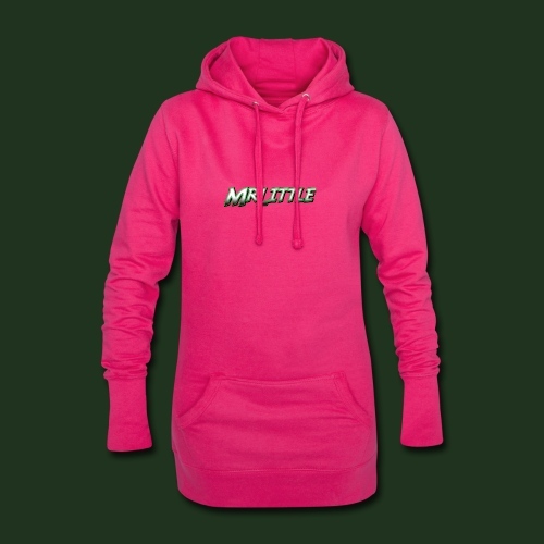A simple text which fits on dark colours. - Hoodie Dress