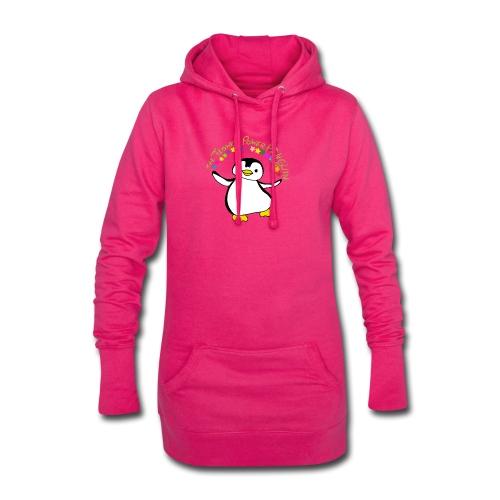 Pinguin Flower Power - Hoodie-Kleid