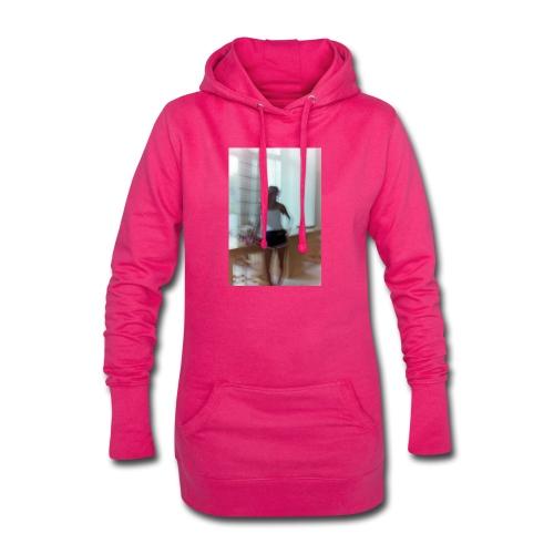 Mädchen in Shorts - blurred vintage photography - Hoodie-Kleid