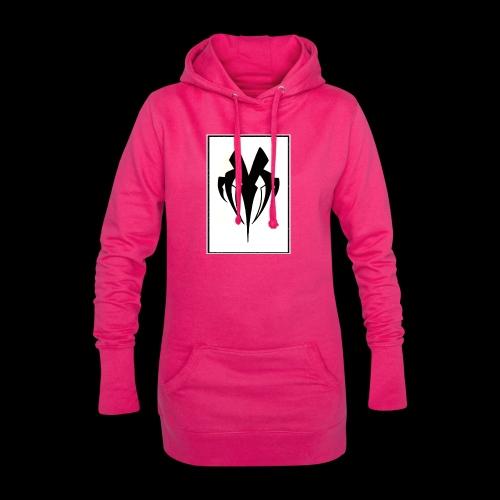 Mbodystrange - Sweat-shirt à capuche long Femme