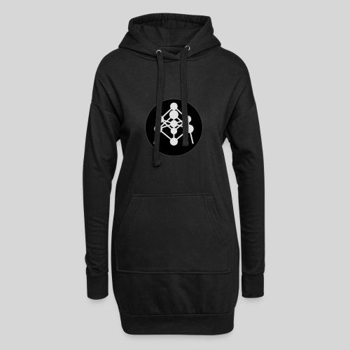 Atomium - Sweat-shirt à capuche long Femme