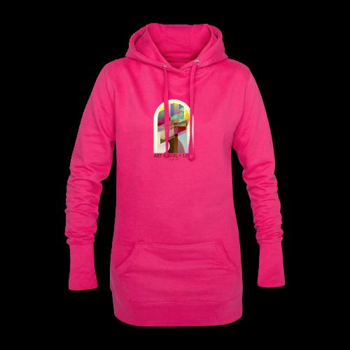 Farbenlehre - Hoodie-Kleid