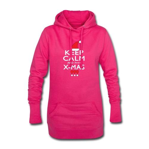 Keep calm XMAS - Hoodie-Kleid