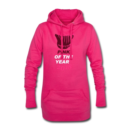 pink of the year 2018 pussyhat - Hoodie-Kleid