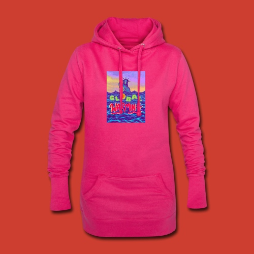 Global Warming sunset - Hoodie Dress