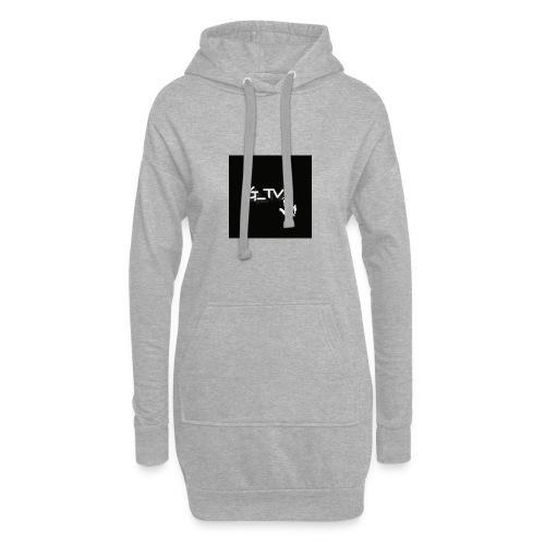 G_TV_ - Hoodie-Kleid
