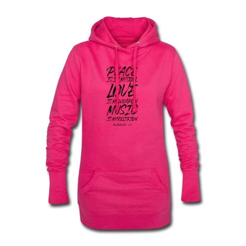 Djecko blk - Sweat-shirt à capuche long Femme