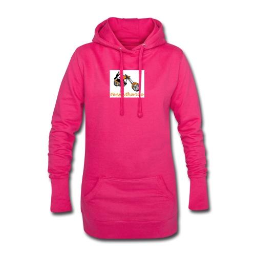 enjoytheride - Sweat-shirt à capuche long Femme