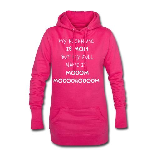 Witziges Geschenk für Mütter Eltern Geburt Taufe - Hoodie-Kleid
