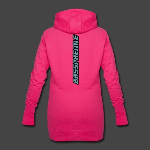 Bassphemie - Blau (Original Design) - Hoodie-Kleid