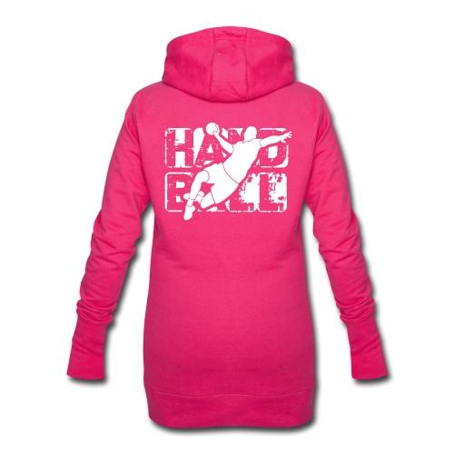 HANDN - Sweat-shirt à capuche long Femme