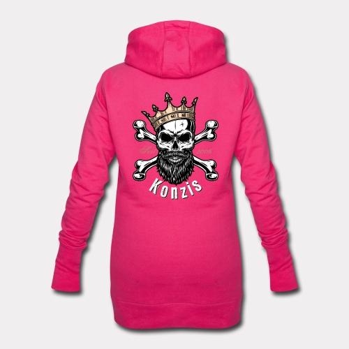 Skull Bones Logo - Hoodie-Kleid