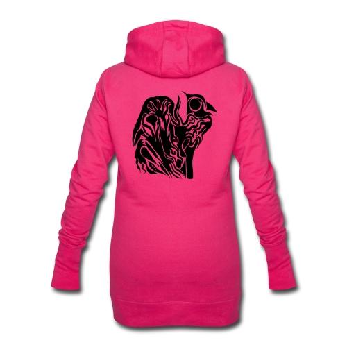 Coque Abstrait - Sweat-shirt à capuche long Femme
