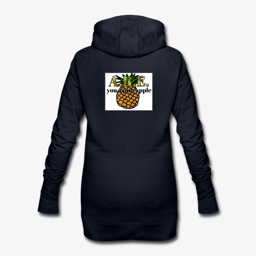 Are you a pineapple - Hoodie Dress