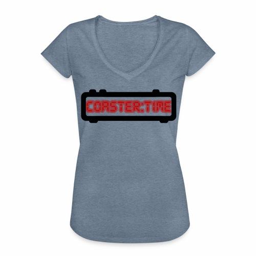 Coaster Time Schwarz - ParkTube - Frauen Vintage T-Shirt