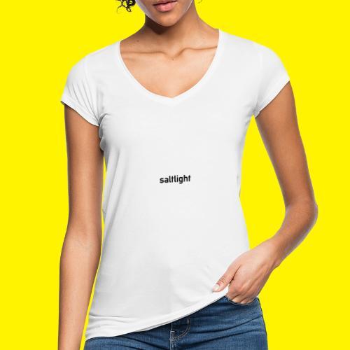 Saltlight // Black - Black - Women's Vintage T-Shirt