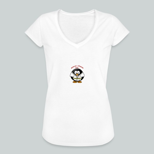 VisbyPenguins - Vintage-T-shirt dam