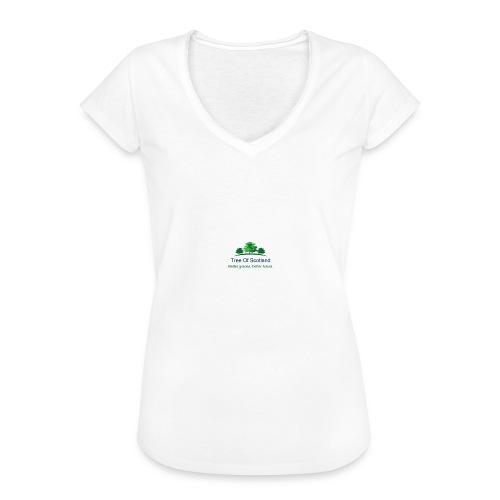 TOS logo shirt - Women's Vintage T-Shirt
